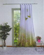 Digitaldruck Schlaufenschal Vorhang Schmetterling 245 cm x 140 cm