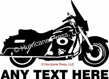 Image of Road King FLHR Vinyl STICKER Decal Y