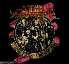 STEEL PANTHER cd lgo SUPERSONIC SEX MACHINE Official Babydoll SHIRT LG balls out