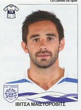 N°298 MAJSTOROVIC # GERMANY PAS GIANNINA STICKER PANINI GREEK GREECE LEAGUE 2010