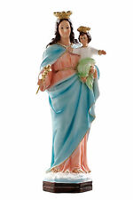 Mary help of christians resin statue cm. 44