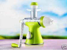 Giocoso Manual Juicer & Fruit Ice Cream Maker Juice Extractor Blender Machine