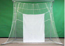 NEW Indoor.Outdoor Home Golf Ball Practice Net w/ Frame.Golfing Hitting.driving