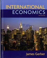 International Economics, by Gerber, 5th Edition Instructor
