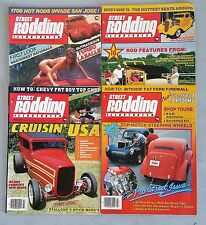 Lot of 4 Different Street Rodding Illustrated Magazines - Customs & Restorations