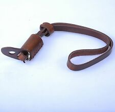 Brown Leather Camera Hand Wrist Strap for EVIL ILDC MILC Mirrorless Small Camera