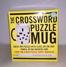 Crossword Puzzle Mug - The Unemployed Philosophers Guild **Free Shipping!**