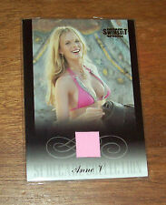 2012 Anne V Sports Illustrated Decade Swimsuit Special  Memorabilia Card
