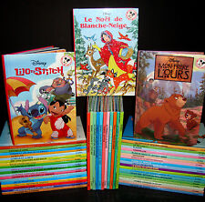 Huge Lot - 50 French Disney Books - Mickey Club du Livre - HC Teachers Class Set