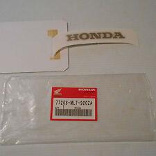 GENUINE HONDA PARTS STICKER HONDA MARK B RR TYPE 1 VFR750 88/89 77208-ML7-920ZA