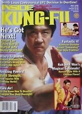 RARE 5/98 INSIDE KUNG FU CONAN LEE IN HYUK SUH BLACK BELT KARATE MARTIAL ARTS