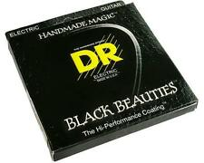 DR Strings Black Beauties Coated 7-STRING Electric Guitar Strings 10-56 BKE7-10