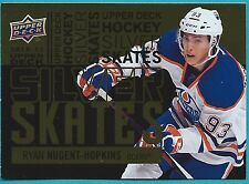 2012-13 Upper Deck Silver Skates GOLD Insert Card #13 of Ryan Nugent-Hopkins
