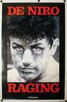 Raging Bull - original movie poster  - 27x41 1980 Robert DeNiro Advance