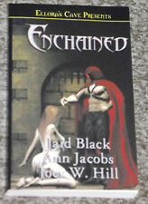 ENCHAINED EROTIC ROMANCE BOOK JAID BLACK JOEY W. HILL ELLORA'S CAVE NEW 3 IN 1