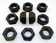 "Nyloc 1-3/4 -12 Hex Locking NTU Jam Nut 1-3/4"" 12 TPI Thin - Plain Steel 1.5"" T"