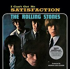 """ROLLING STONES  """"I CAN'T GET NO SATISFACTION""""  50th ANNIVERSARY LTD. EDITION"""