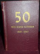 Fritz Reuter Altenheim, German Plattdeutsche Volks Verein NJ Old Age Home 1948