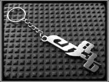 KEYRING for HONDA CB836 CB 836 - STAINLESS STEEL - HAND MADE - CHAIN LOOP FOB
