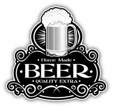 """Home Made Beer Seal Emblem Car Bumper Sticker Decal 5"""" x 5"""""""