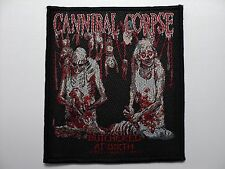CANNIBAL CORPSE  BUTCHERED AT BIRTH  WOVEN  PATCH