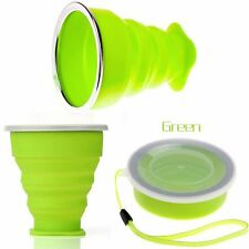 Folding Outdoor Camping Telescopic Coffee Tool Collapsible Cup Silicone Travel