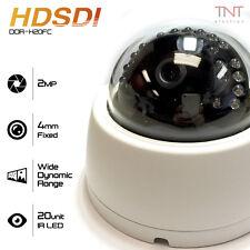 """HD SDI 2.1MP 1/2.8"""" SONY Progressive CMOS 1080P CCTV Dome Camera 4mm Fixed Lens"""