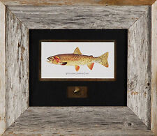 Yellowstone Cutthroat Trout Joesph Tomelleri Fish Print Poster