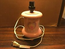 Disney Pink Four Princess Bedside Table Lamp