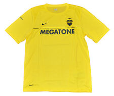 Boca Juniors Training shirt short sleeves M or L Nike yellow Jersey Adult