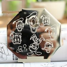 Stamping Device Nail Art Plate Donald Duck
