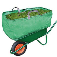 Garden & Farm Wheelbarrow Bag Heavy Duty Increased Capacity Grass Leaves 270L