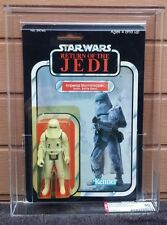 VINTAGE STAR WARS ROTJ IMPERIAL STORMTROOPER HOTH SNOWTROOPER MOC 1983 AFA 80