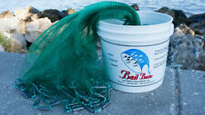"Bait Buster 12 ft. Radius 3/8"" Sq. Mesh Bait Cast Net CBT-BB12 by Lee Fisher"