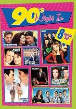 90's Night In: 8-Movies (DVD, 2014, 2-Disc Set)SEALED*JERSEY GIRL*THREESOME*GO!