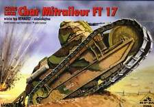 RENAULT FT-17 MITRAILLEUR (FRENCH, BRASILIAN, CHINESE, LITHUANIAN MKGS) 1/35 RPM