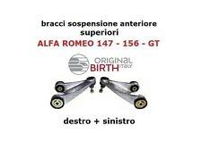 BRACCI SOSPENSIONE SUPERIORE DX-SX ALFA ROMEO 156 147 GT