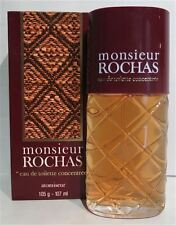 ROCHAS monsieur 107ml EdT Eau de Toilette CONCENTREE SPRAY NEU/OVP Rarität