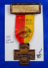 1927 Spanish American War Veterans 29th National Encampment Aux. Detroit Medal