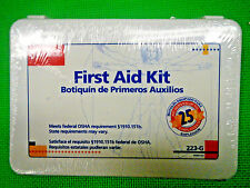 First Aid 25 Person Bulk First Aid Kit, 107-Piece Kit - 223-G - Exp 05/2018