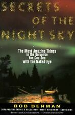 Secrets of the Night Sky: Most Amazing Things in the Universe You Can -ExLibrary