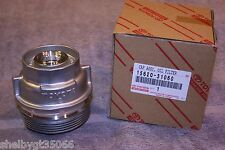 15620-31060 Oil Filter Housing Cap Assembly - Genuine Toyota / Lexus Part