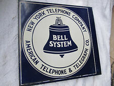 New York  Telephone Sign Payphone Old Phone Bell System