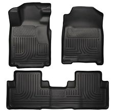 2010-2014 Ford Mustang Convertible/Coupe Husky Weatherbeater Floor Liners Black