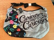 Disney Alice In Wonderland Crossbody Shoulder Bag Hobo Loungefly Curiouser NWT!
