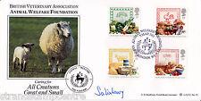 1989 food & l'agriculture - Bradbury lfdc officiel-signé par marquis de Salisbury