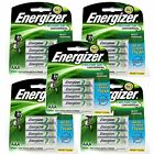 20pcs Energizer Rechargeable AAA NiMH 700 mAh Recharge Universal Battery NEW