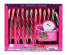 JOLLY RANCHER 12pc Candy Canes BOLD FRUIT SMOOTHIE 5.28 oz Box HOLIDAY Exp.2/18