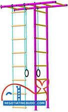 Indoor Sport Playground. Gym for Kids. Swedish Ladder rings rope ladder ! Sale