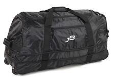 Jb Ultraliviano XL120L expansión Plegable Rolling Duffle Bolsa de viaje con ruedas Negro